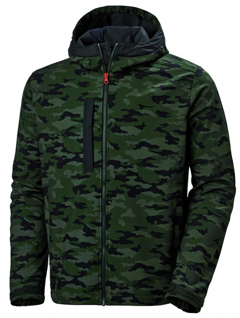 VESTE SOFTSHELL HH CAMOUFLEE T    S
