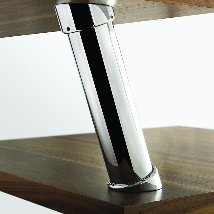 CONSOLE INCLINEE 210 MM / CHROME