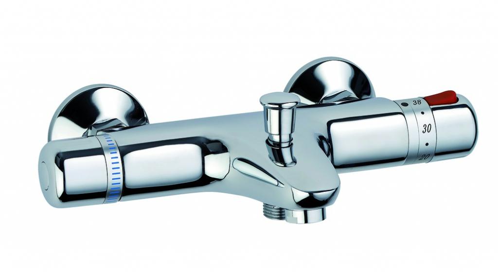 Robinetterie sanitaire domestique : Mitigeur thermostatique de bain douche - modèle Néotherm