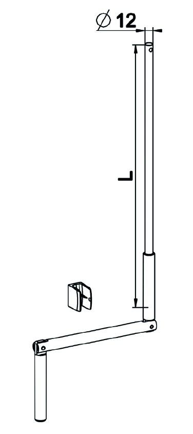TRINGLE OSCILLANTE SELECTALU L1000