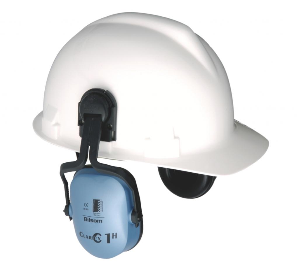 Casques de chantier : Paire de coquilles pour casques Iris 2, Brennus et Kara