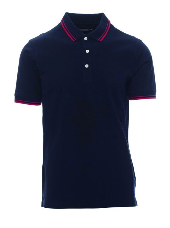 POLO SKIPPER MARINE ROUGE     S