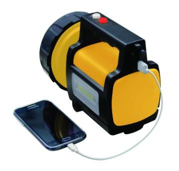Lampe : Projecteur rechargeable 10 W - avec base chargement