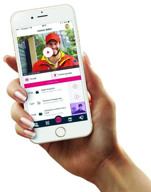 VIDEOPHONE CONNECTE 4G HI PRO S500