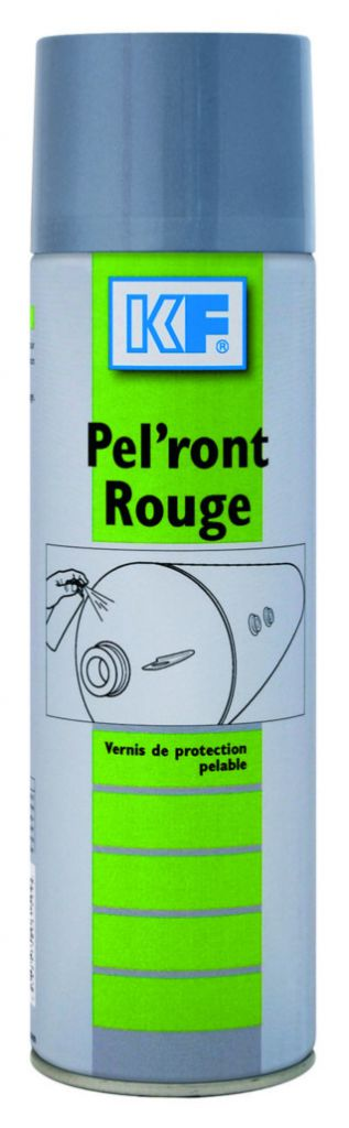 Peinture et anti-rouille : Pel'Ront rouge - 6150