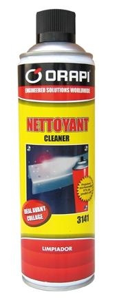 Produits de maintenance : Nettoyant cleaner