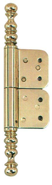 Rotation : Acier - finition laiton poli