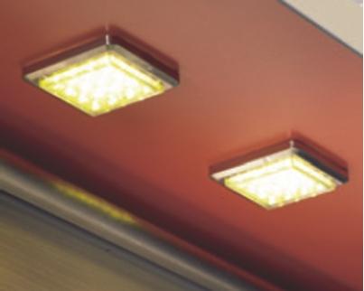 Luminaire led : Kit 3 spots Novara