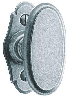 Garniture acier : Modèle Corrèze 70 x 35 mm