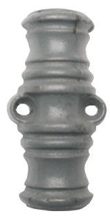 Crémone en applique : Coulisseau supplémentaire pour crémone fonte rustique peinte