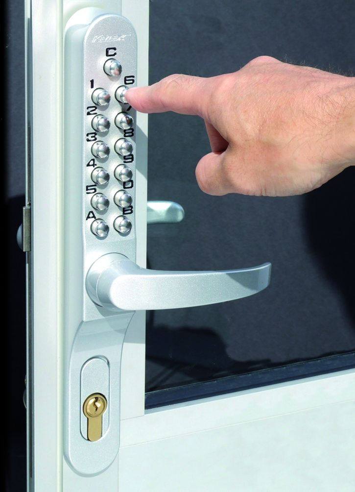 Verrou et serrure à code mécanique : Keylex Profil