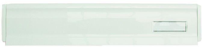 Boîte aux lettres : Nylon blanc avec porte-carte
