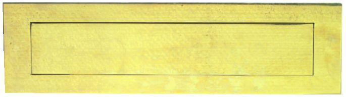 Boîte aux lettres : Laiton