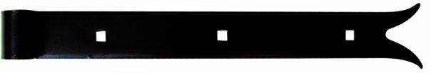 Ferrure de volet et portail : A bout queue de carpe - acier cataphorèse