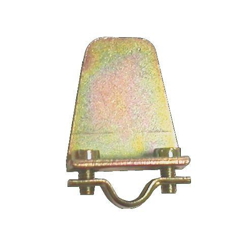 Ferrure de volet et portail : Butée pour arrêt - pour fer rond de 10 mm