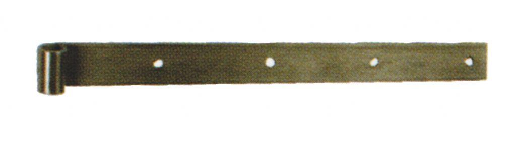 Ferrure de volet et portail : A bout droit - inox brossé 316 L