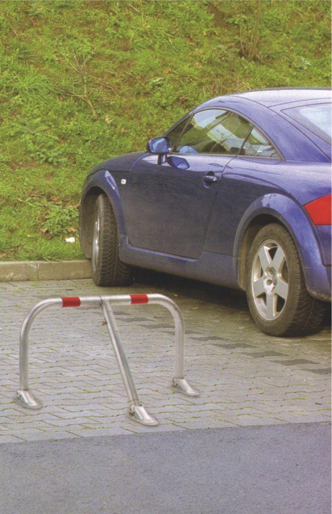 Bloc parking : Renforcé galvanisé avec 3 pieds articulés
