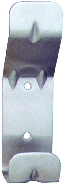 PORTE MANTEAUX INOX L.40 HAUT.140