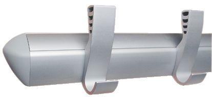 Porte-vêtement en batterie : Aluminium