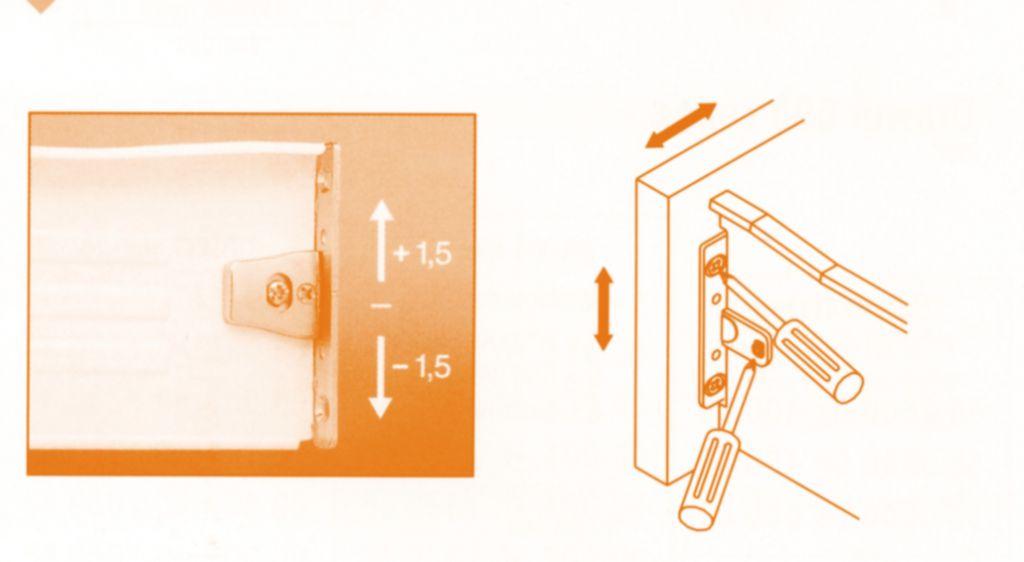 Côté de tiroir simple paroi : FGV Uniset
