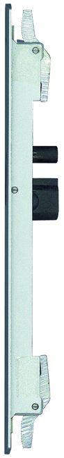 Accessoire pour baie coulissante : 6401 - cuvette à levier à encastrer