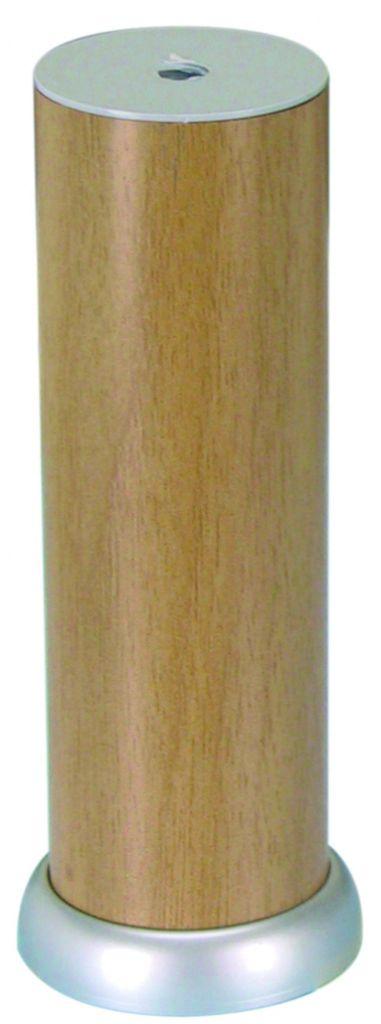 Pied de meuble rond : ø 38 mm