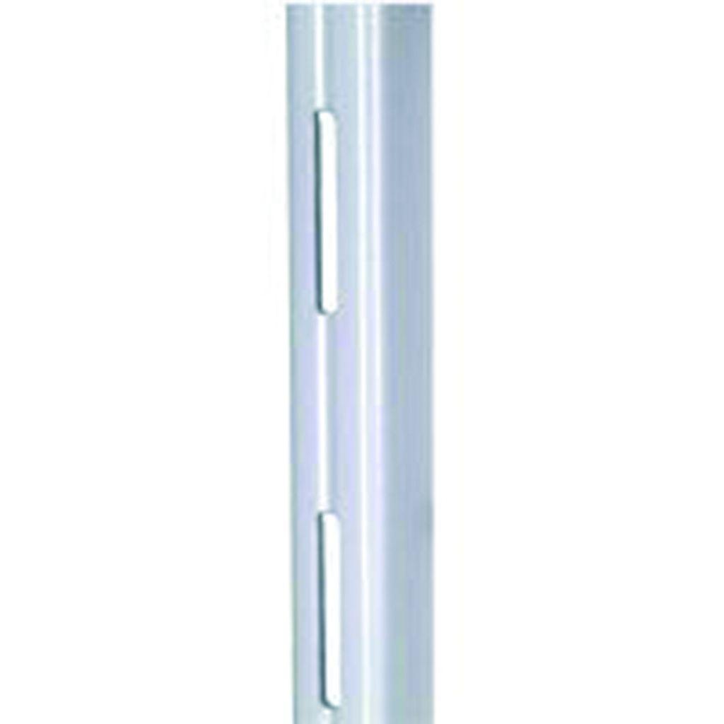 Crémaillère et console - Element System : Simple perforation acier laqué