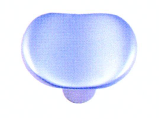 Garniture classique : Concave - zamak - finition chromé mat