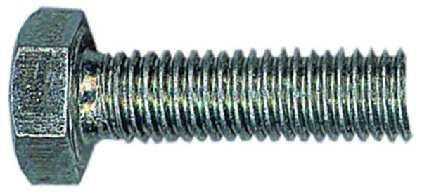 Vis métaux : Acier zingué - ISO 4017