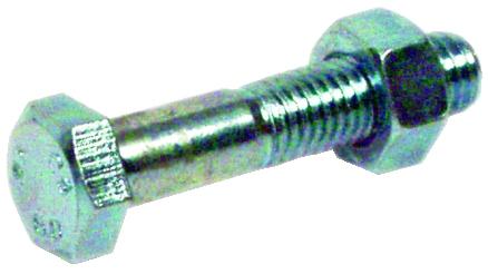 Boulon : Acier zingué - ISO 4017 - classe de résistance 6-8 - filetage partiel - GFD