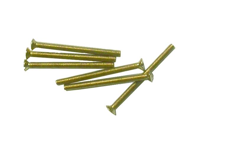 Visserie métrique laiton : Laiton - DIN 963