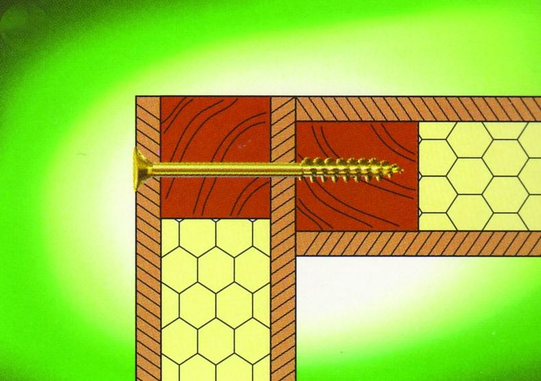Visserie pour charpente - bardage - toiture : Acier bichromaté - filetage partiel - T-Star plus