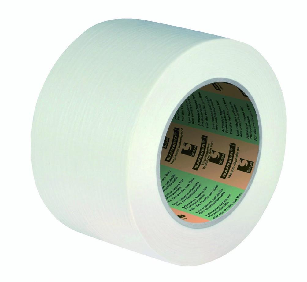 Ruban adhésif : Papier lisse 60°C Chamois - 9060S