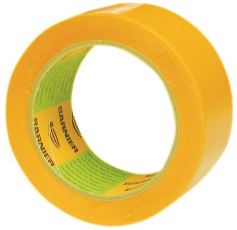 Ruban adhésif : Vinyle plastifié - jaune - 6096