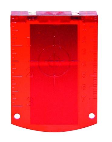 Accessoires pour laser : Cible magnétique réfléchissante