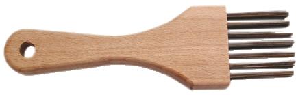 Brosse métallique : Pinceau - sortie des fils 35 mm