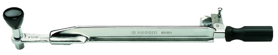 Clé à douille : Clé dynamométrique avec carré conducteur S.203A