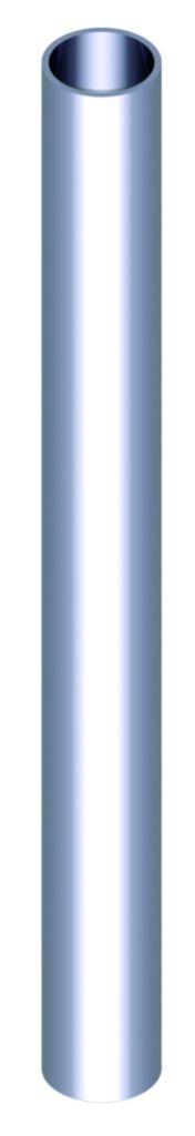 Poignée de porte battante : Poignée barreau inox 316 à assembler