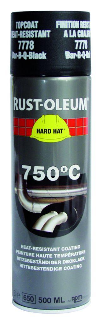 Peinture et anti-rouille : Peinture de finition haute température 750°C