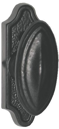 Bouton de fenêtre : Fonte époxy noir