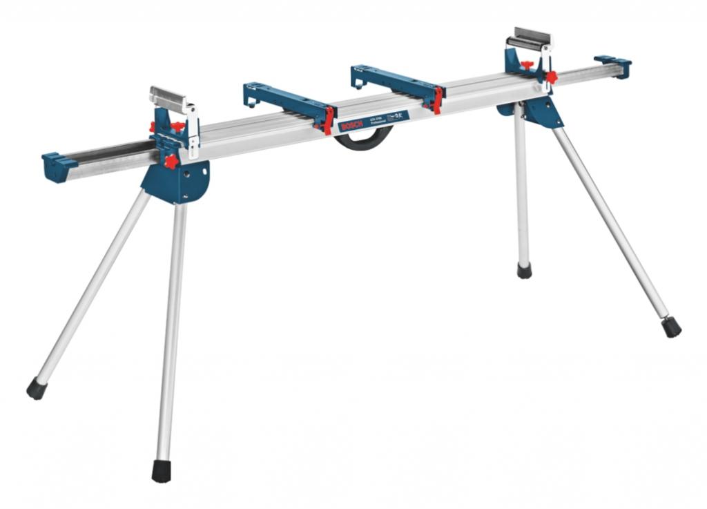 Accessoire pour scie à onglet : Piètement GTA 3800 pour scie Bosch