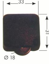 Luminaire halogène : Interrupteur à roulettes