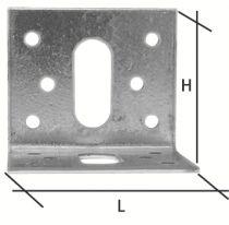 Connecteur métallique assemblage bois : Equerre simple Waelbers