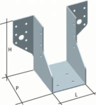 Connecteur métallique assemblage bois : Sabot de solive