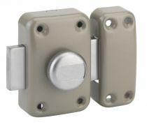 Verrou série HG : A bouton - cylindre 5 goupilles HG - ø 23