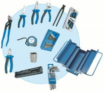 CAISSE A OUTILS 5 CASES 50 OUTILS
