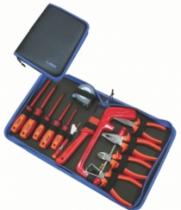Composition d'outillage : Trousse 13 outils VDE 1000 V - 905 VDEBI