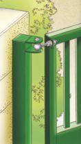 Ferrure de volet et portail : Acier zingué