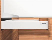 Tiroir complet monté standard Blum - intivo - BLUMOTION : Intivo blanc hauteur M