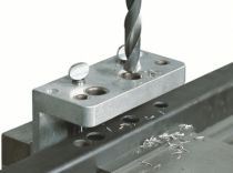 Serrure de grille en applique : Calibre de perforation pour serrure type LAKQ